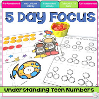 Teen Number TPT Unit