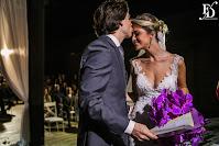 casamento no party room em porto alegre com decoração simples rústico-chique em azul petróleo e fúcsia por fernanda dutra eventos cerimonialista em porto alegre