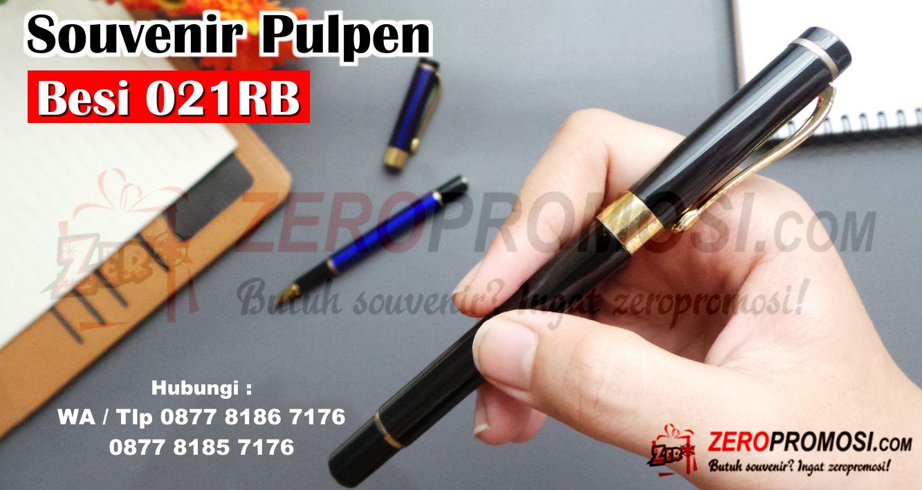 Jual Pulpen Besi Promosi 021 RB, Souvenir Pen besi 021RB, Pulpen besi metal kode 021RB