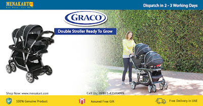 Graco Double Stroller Ready To Grow Metropolitan