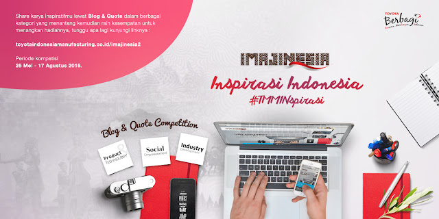 "Imajinesia ""Inspirasi Indonesia"" Blog & Quote Competition"
