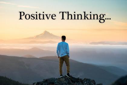Berpikir positif setiap hari