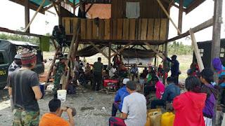 Langkah Danramil Hindarkan Konflik Adat Suku Kamoro Papua
