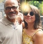 Maanvi Gagroo with her father