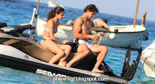 Spanish Tennis Player Rafael Nadal And His Girlfriend Maria Francisca Perell Relax On Jet Ski Off The Coast Of Marbella