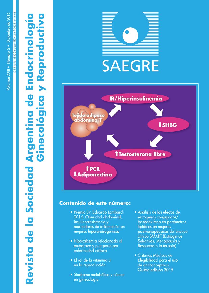 Revista de la Sociedad Argentina de Endocrinología Ginecológica y Reproductiva