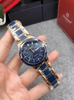 Đồng hồ đeo tay nam dây đá ceramic dây làm bằng đá màu tạo phong cách đẳng cấp và cá tính