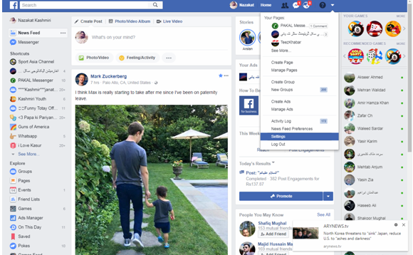how to delete facebook account steps