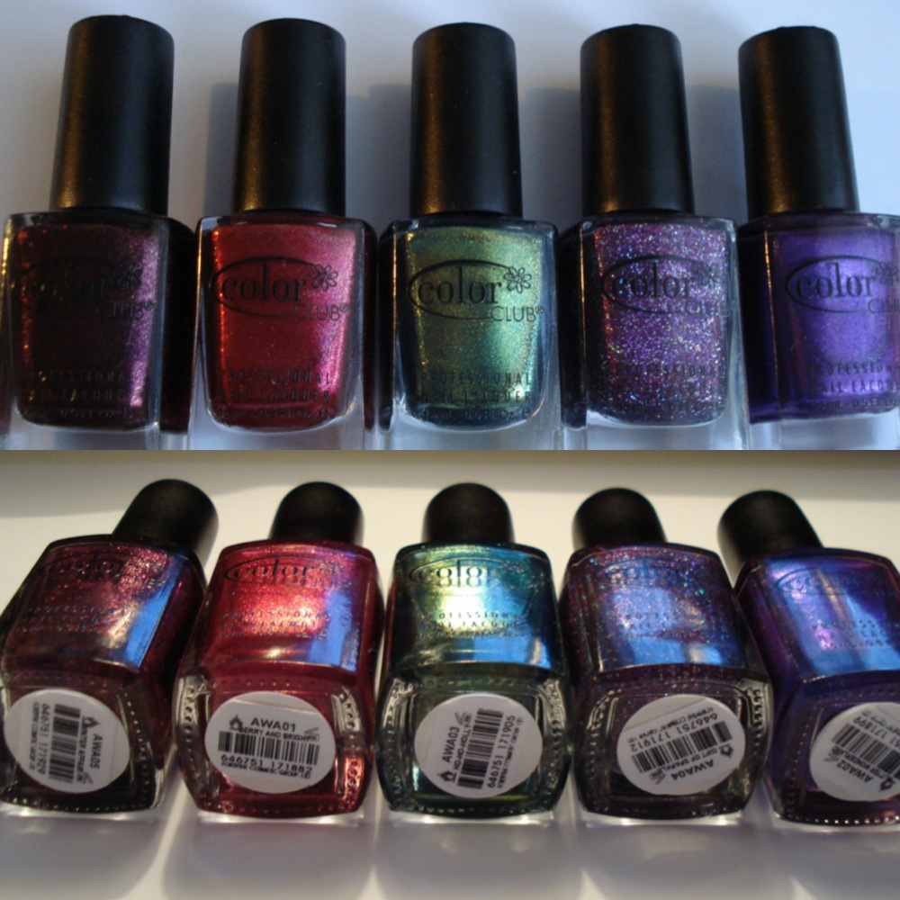 Little Miss Nailpolish Giveaway Win 5 Polishes From Color Club