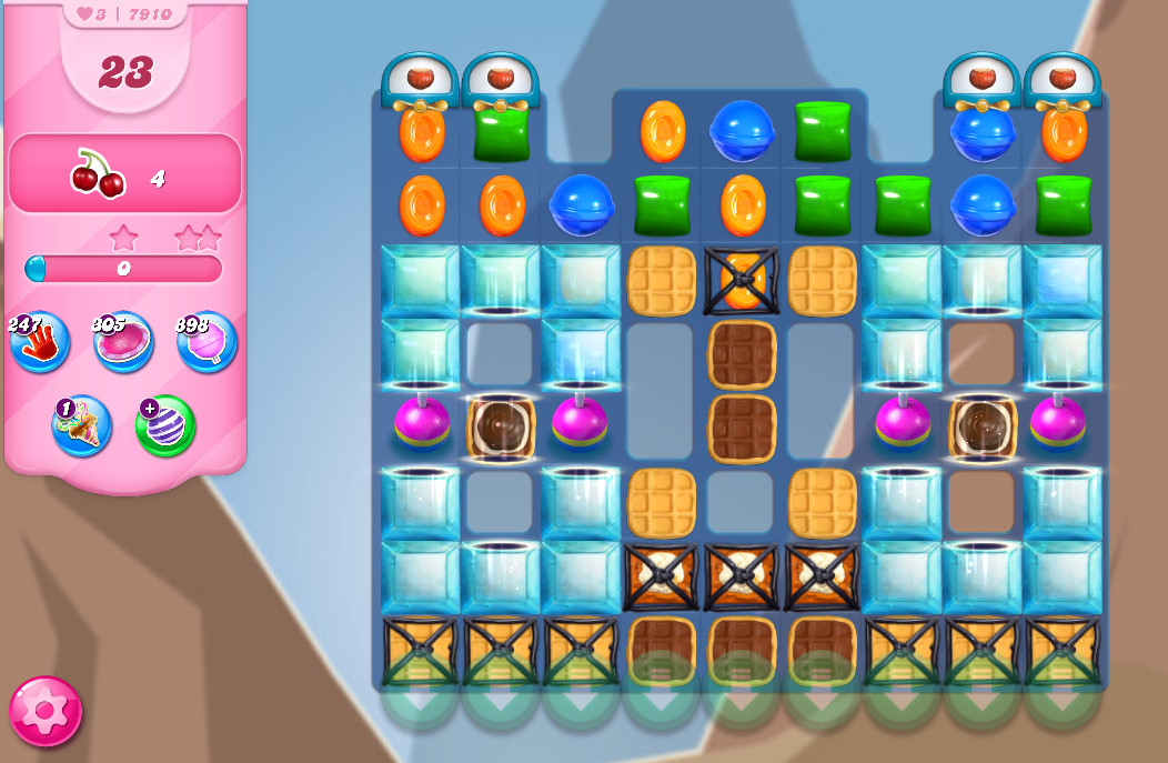 Candy Crush Saga level 7910