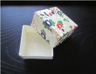 Origami box for trinkets or paper jewelry box. Ideas for home ... | 245x320