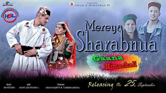 Mereya Sharabnua  Hindi Lyrics - Royal Vashisth