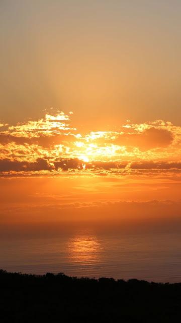 Desktop Wallpaper and iPhone Sea Sunset