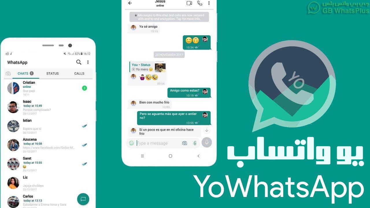 تحميل تطبيق يو واتساب (YOWhatsApp (YoWA APK ضد الحظر اخر اصدارv14.00 2021