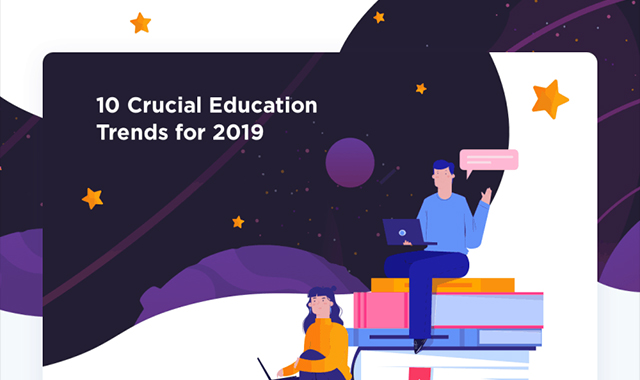 10 Crucial Education Trends of 2019 #infographic
