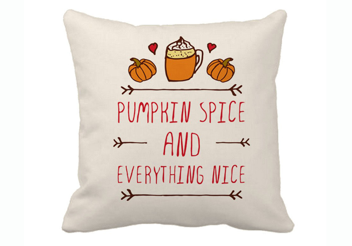 Pumpkin Spice Pillow