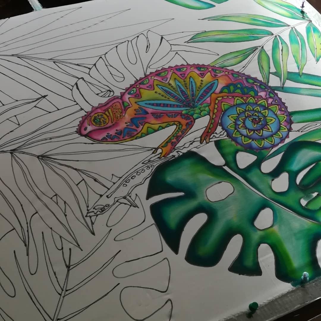 Randki malowanie ramek