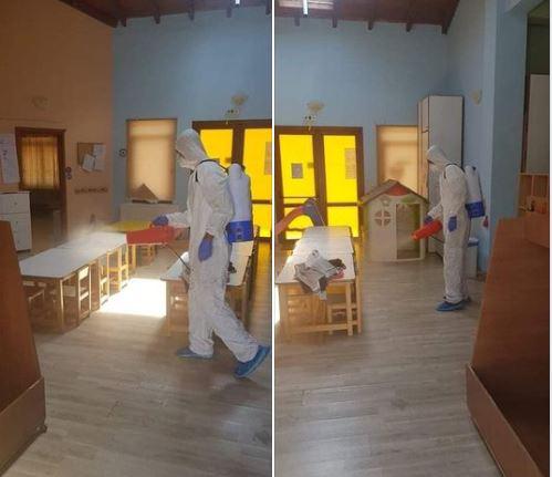 Απολυμάνσεις σε όλα τα σχολεία ξεκινά ο Δήμος Σουφλίου