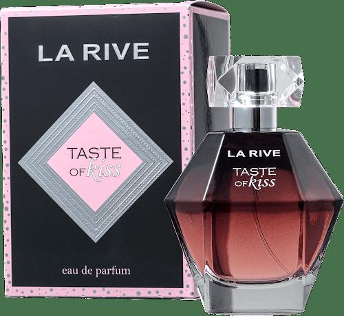Taste of Kiss: caixa e frasco