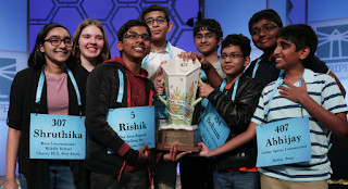 Eight kids literally broke the 2019 National Spelling Bee