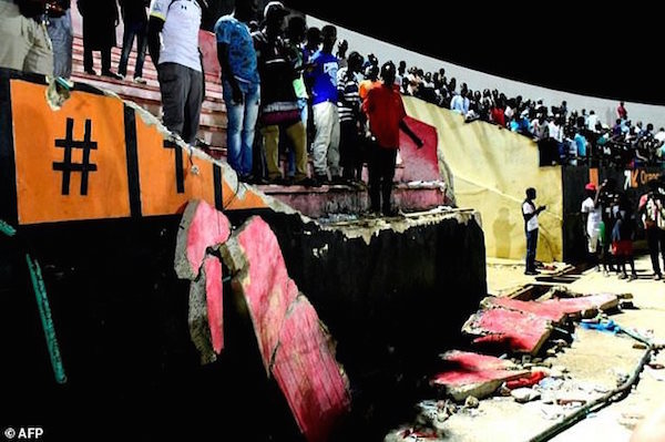 8 Dead, 49 Injured In Stampede At Senegal's Demba Diop Stadium (Photos, Video)