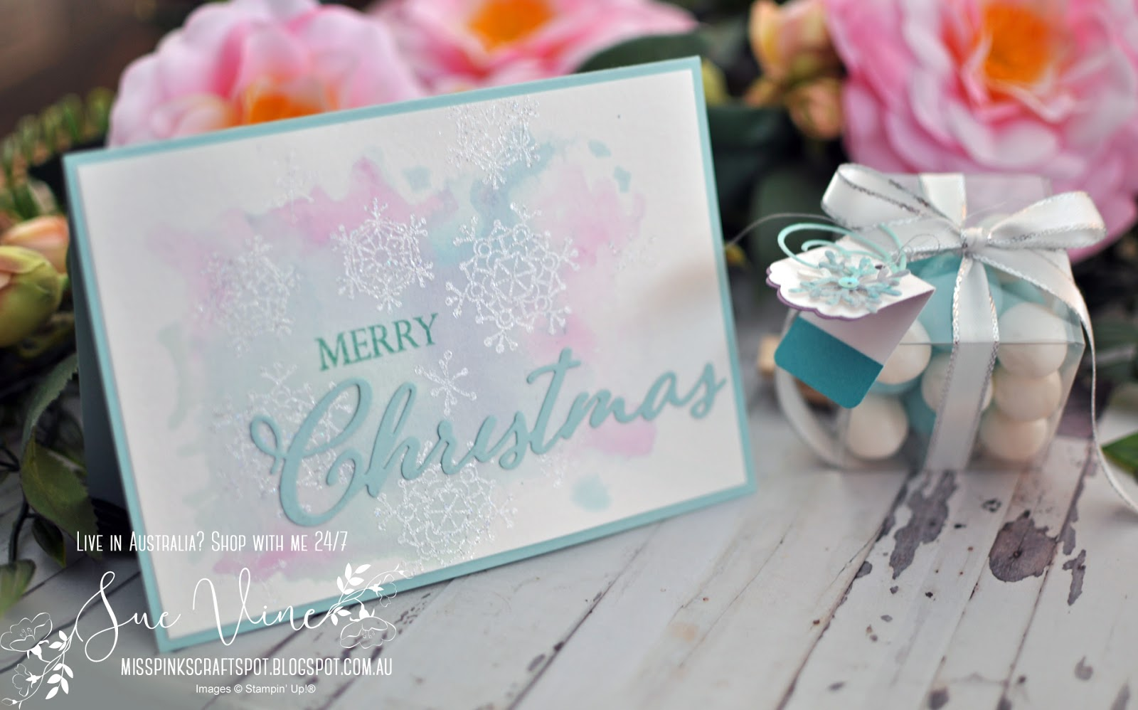 Christmas In July Australia 2019.Miss Pinks Craft Spot Stampin Friends July 2019