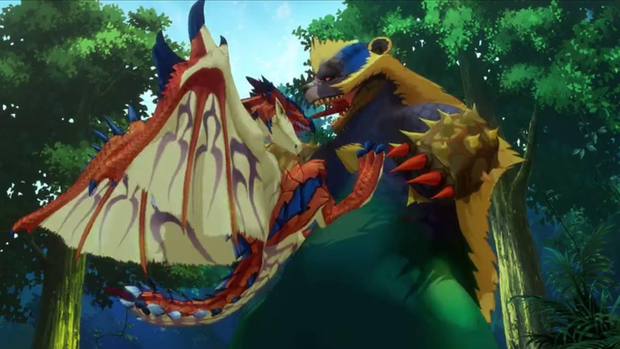 Monster Hunter Stories Ride On cap 11 sub español