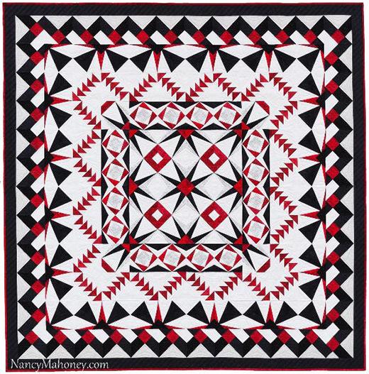 Starburst Quilt Along designed by Nancy Mahoney