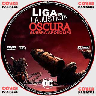 LIGA DE LA JUSTICIA OSCURA GUERRA APOKOLIPS - JUSTICE LEAGUE DARK APOKOLIPS WAR 2020 [COVER - DVD]