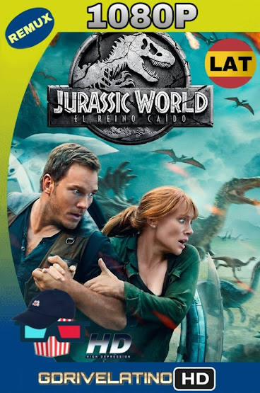 Jurassic World: El Reino Caído (2018) BDRemux 1080p Latino-Ingles MKV
