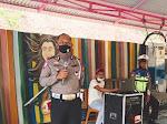 Terapkan Porkes, Operasi Zebra Lantas Polres Sidrap Sosialisasi Tertib Berlalu Lintas di Wisata Pamase Dewata