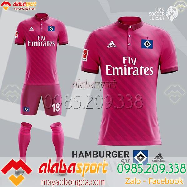 Áo bóng đá màu hồng dành cho nam đẹp