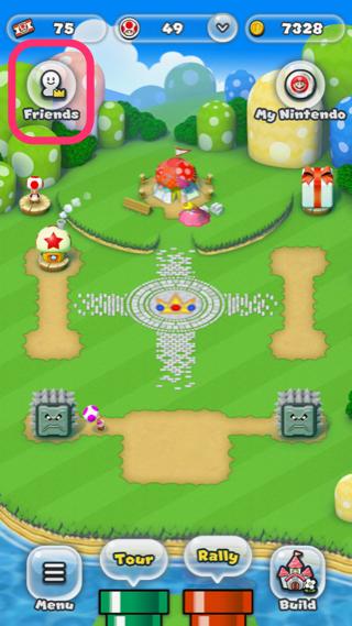 Süper Mario Run arkadaş ekleme