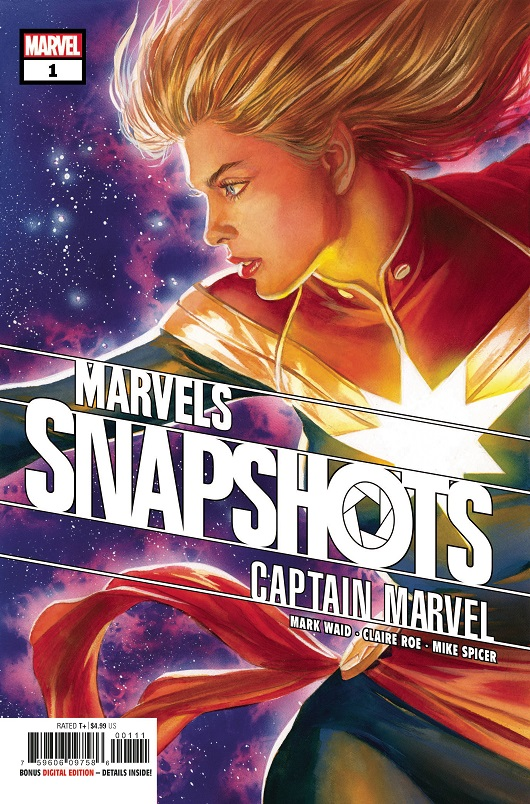 Cover of Captain Marvel Marvels Snapshots #1