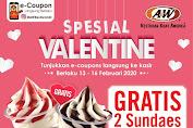 Promo A&W Restoran Special Valentine 13 - 16 Februari 2020