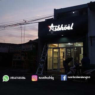 neonbox bandung, neonbox murah,huruf timbul murah, jasa pembuatan Huruf Timbul, harga neonbox bandung, vepo advertising