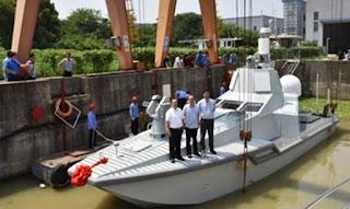 Kapal Perang Nirawak Bernama JARI