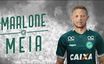 Marlone novo reforço do Goiás Esporte Clube para temporada 2019