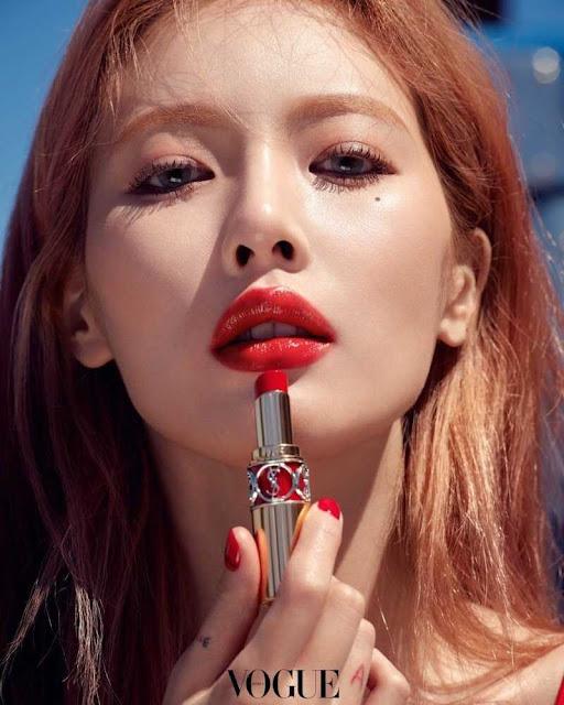 """Gây sốc vì mặc như sắp tụt và khoe vòng 3, HyunA lại sexy đúng đẳng cấp """"nữ hoàng gợi cảm"""" ở khoảnh khắc kín đáo nhất"""