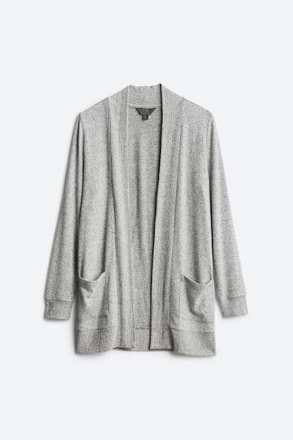 Market and Spruce Brushed Knit Cardigan