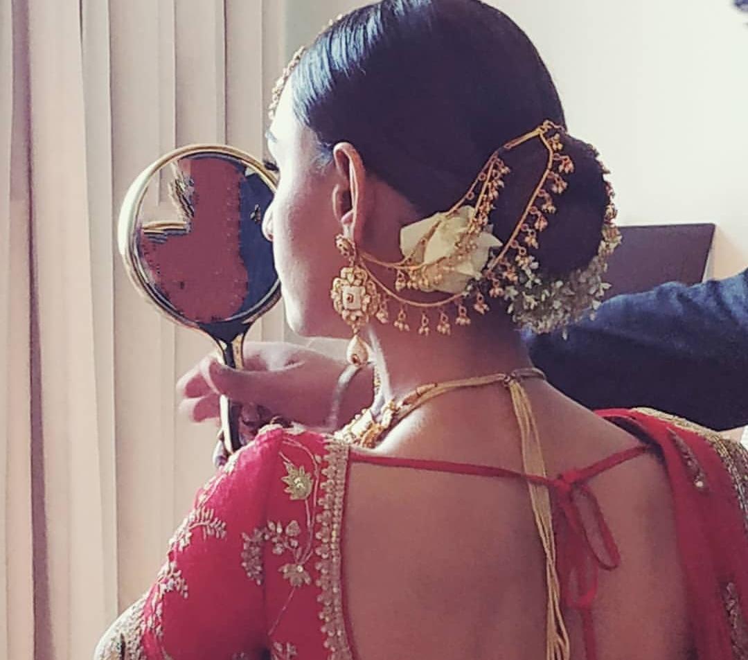 Former Miss India Hasleen Kaur Wedding Jewelry