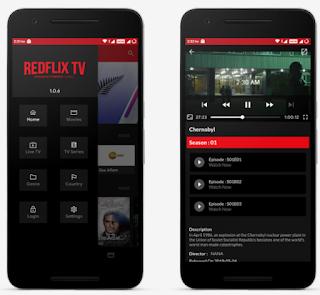 RedFlix TV v1.0.9 MOD APK