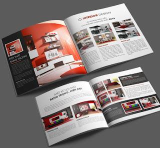 Dịch vụ In ấn catalogue nội thất số lượng lớn