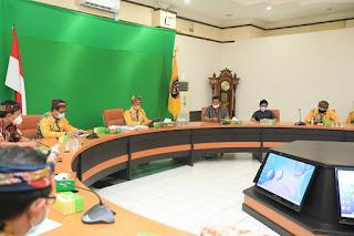 Rapat Pembahasan Kebijakan dan Evaluasi Bersama dengan Jajaran Terkait