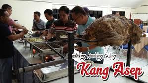 paket lengkap kambing guling kang asep di lembang bandung