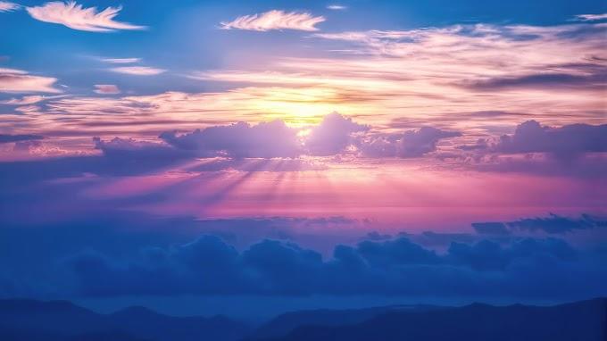 Linda Paisagem no Céu