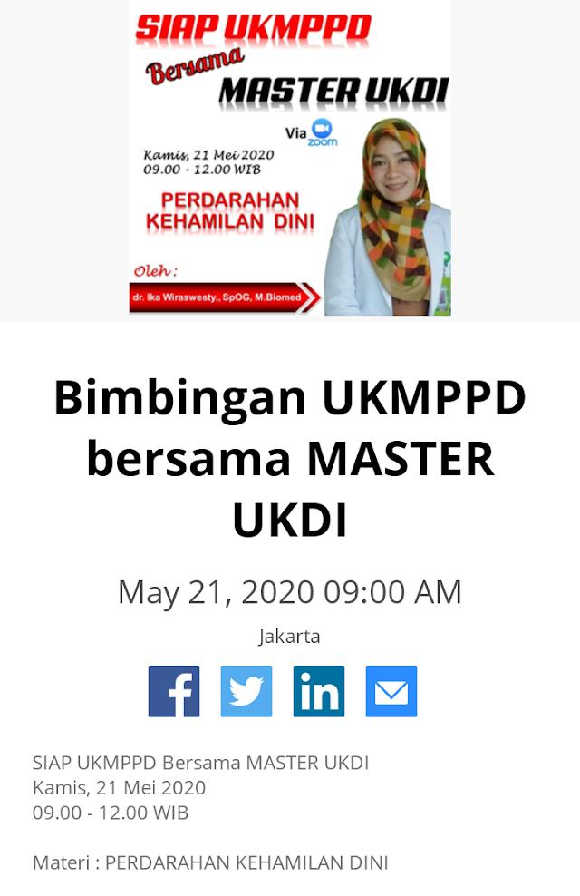 Siap UKMPPD Bersama Master UKDI: Materi Perdarahan Kehamilan
