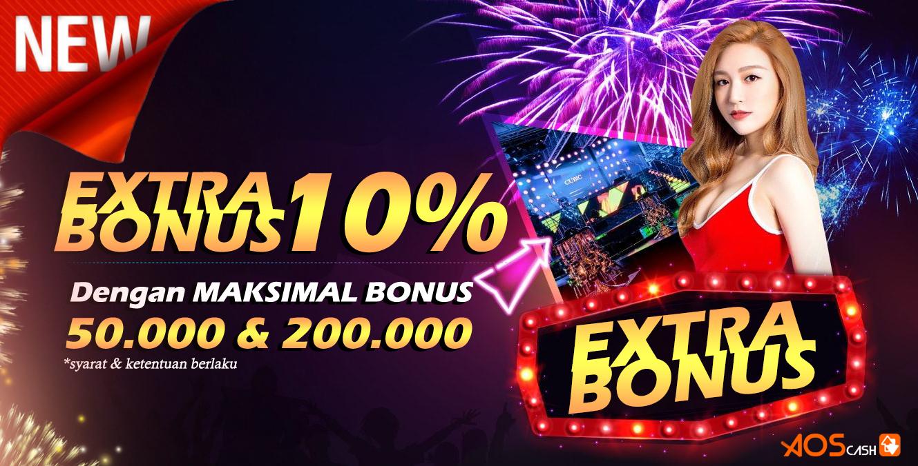 Extra Bonus 10%