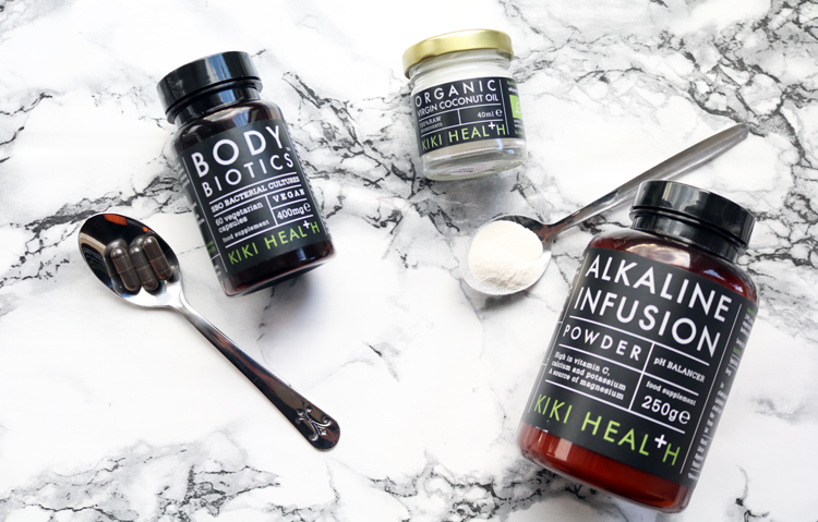 KIKI Health Body Biotics, Alkaline Infusion and Organic Virgin Coconut Oil review