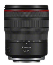 Canon RF 14-35mm f/4L IS